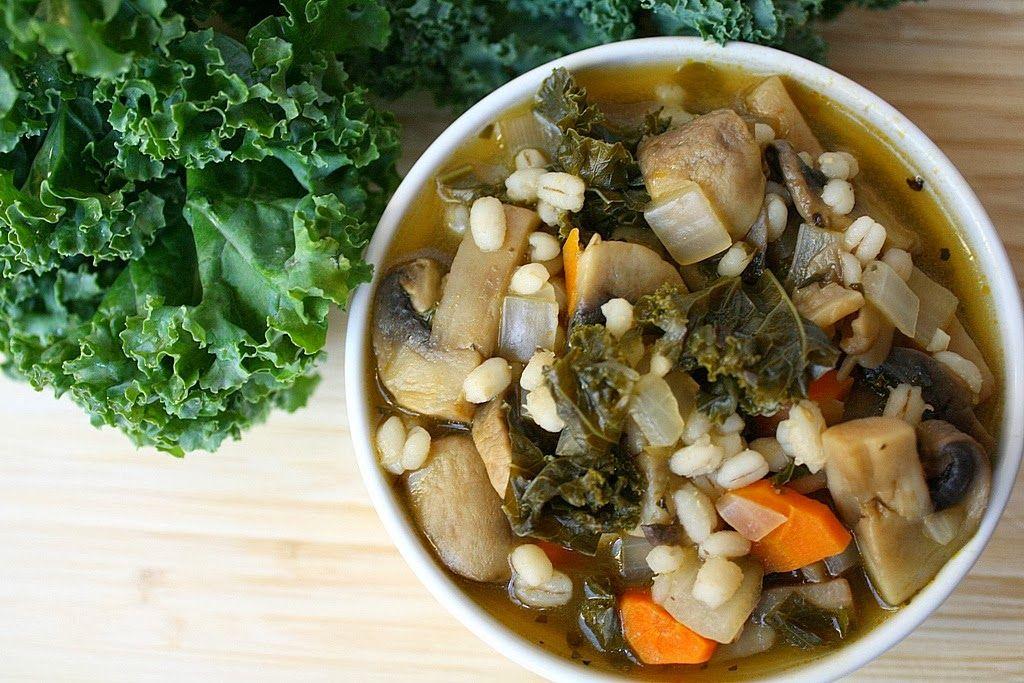 Mushroom Barley Soup Recipe Barley soup, Mushroom