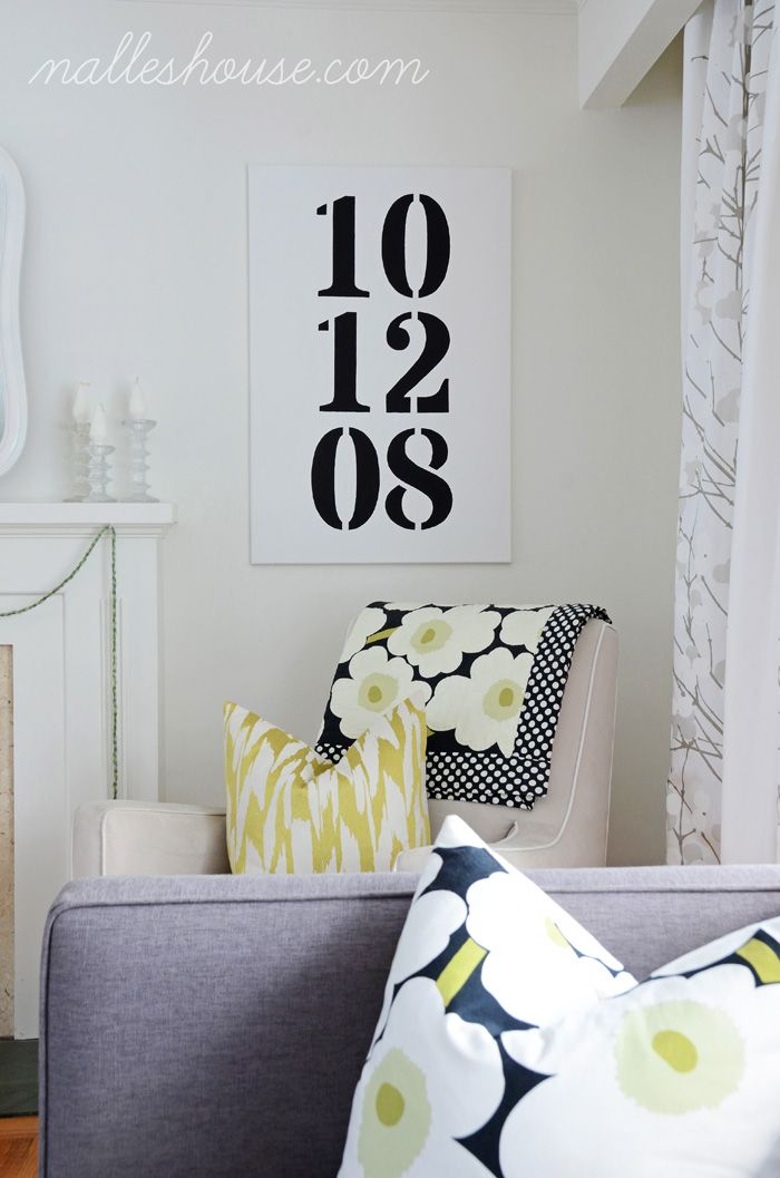 Anniversary date for the bedroom also diy yes please living room rh pinterest