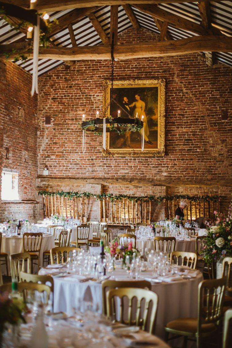 Barn Wedding Venue Decor Meols Hall Southport Lancashire Uk Emilie May Photography