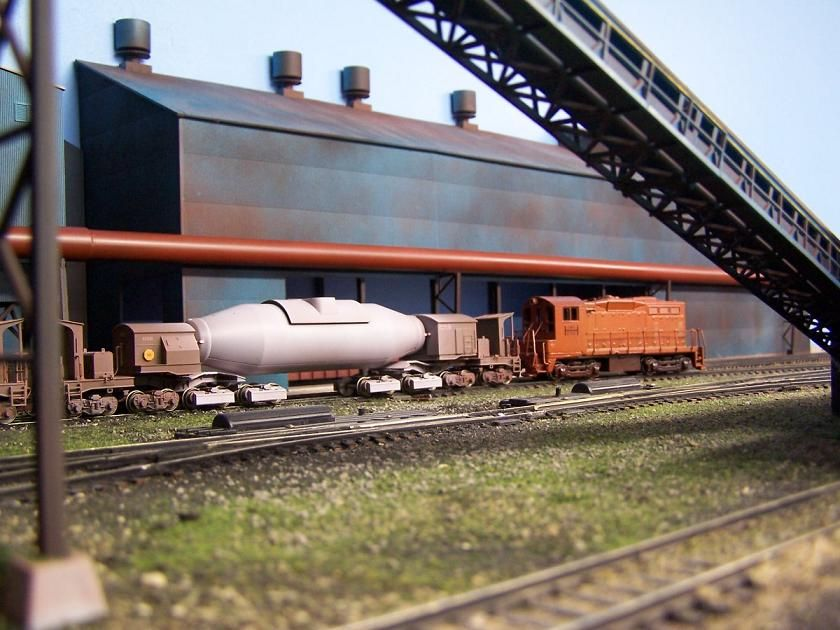 D&D MINING & STEEL | Structures | Ho scale trains, Train, Steel