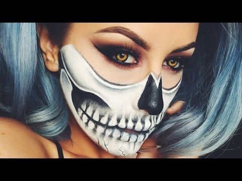 i love this halloween look done using cheap halloween makeup you can get anywhere this time of year this is going to be my costume