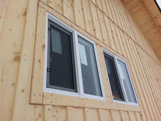 Board Batten Wood Siding Canadian Woodworking Magazine In 2020 Exterior House Siding Wood Siding Options Wood Siding