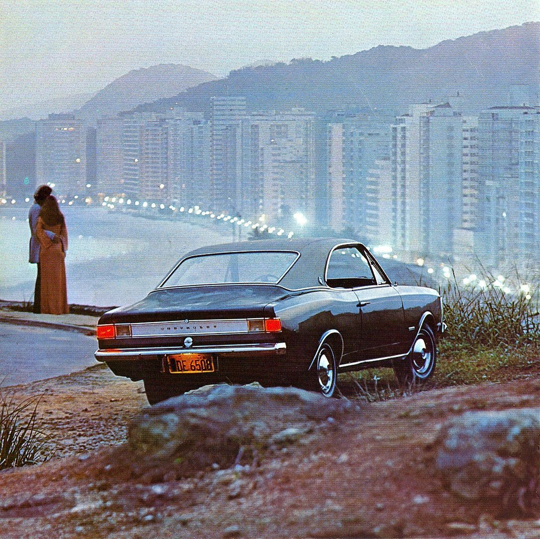 Chevrolet Car Wallpaper: 1973 Opala Gran Luxo 4100 - Brazil
