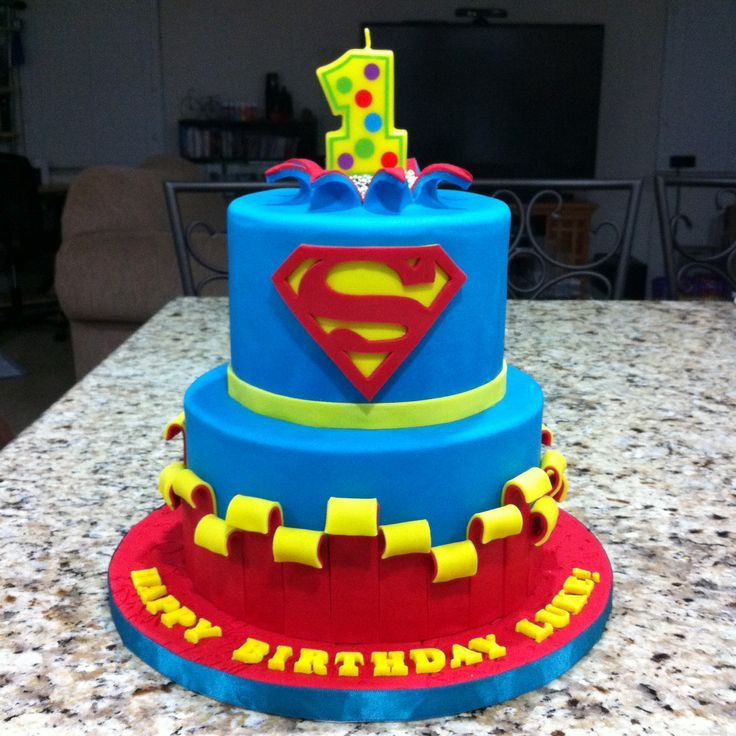 superman cakes pinned by jane evaristo CupcakeCake Obsession