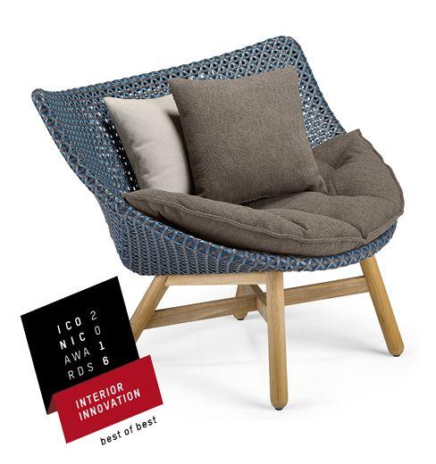 Mbrace For Dedon Outdoor Furniture Moveis Para Jardim Cadeiras Ao Ar Livre Ideias Para Mobilia