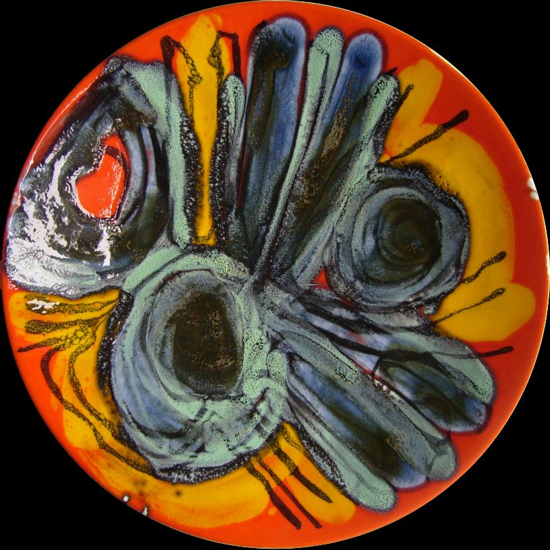 Poole Delphis Plates Gallery