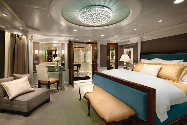 7 Cruise Ship Suites Giving Five Star Hotel Rooms A Run For Their