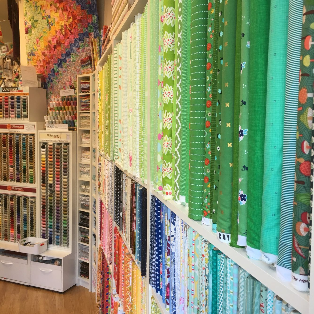 Tikki Patchwork in Kew Gardens London - a dedicated quilt fabric ... : quilting shops london - Adamdwight.com