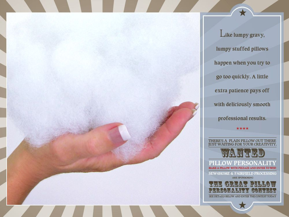 Pillow Stuffing Tips And Tricks How NOT To End Up With A