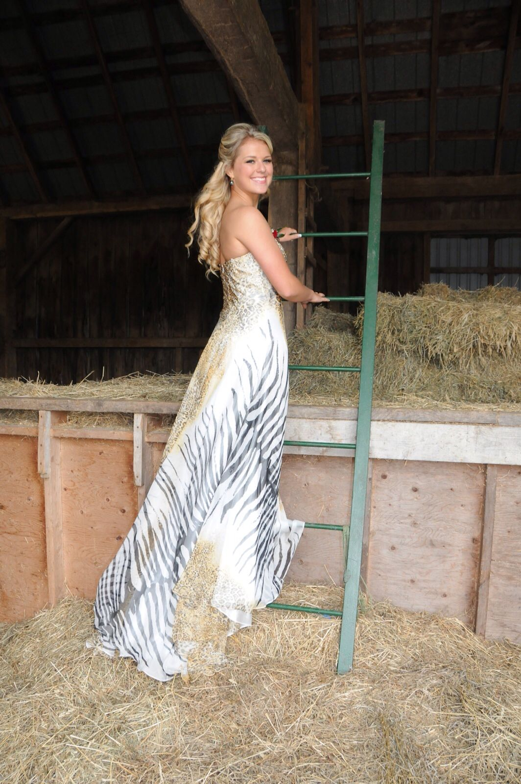 Prom dress Longanimalbeautifulcountry girl Prom