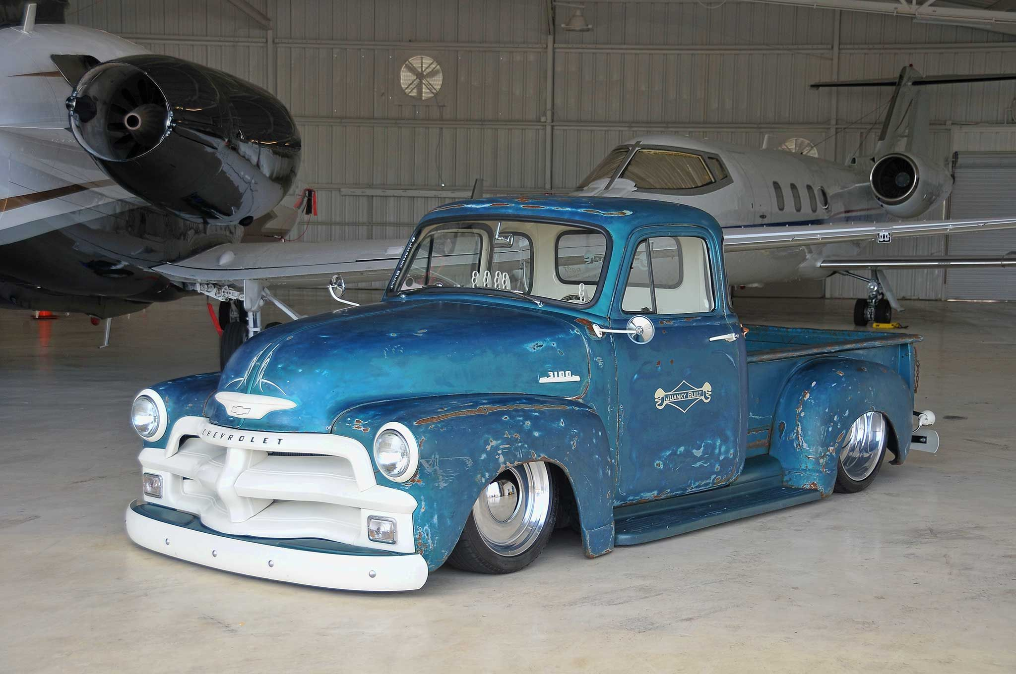 Check out Heath Pinter\'s rescued custom classic 1950 Chevy 3100 that ...
