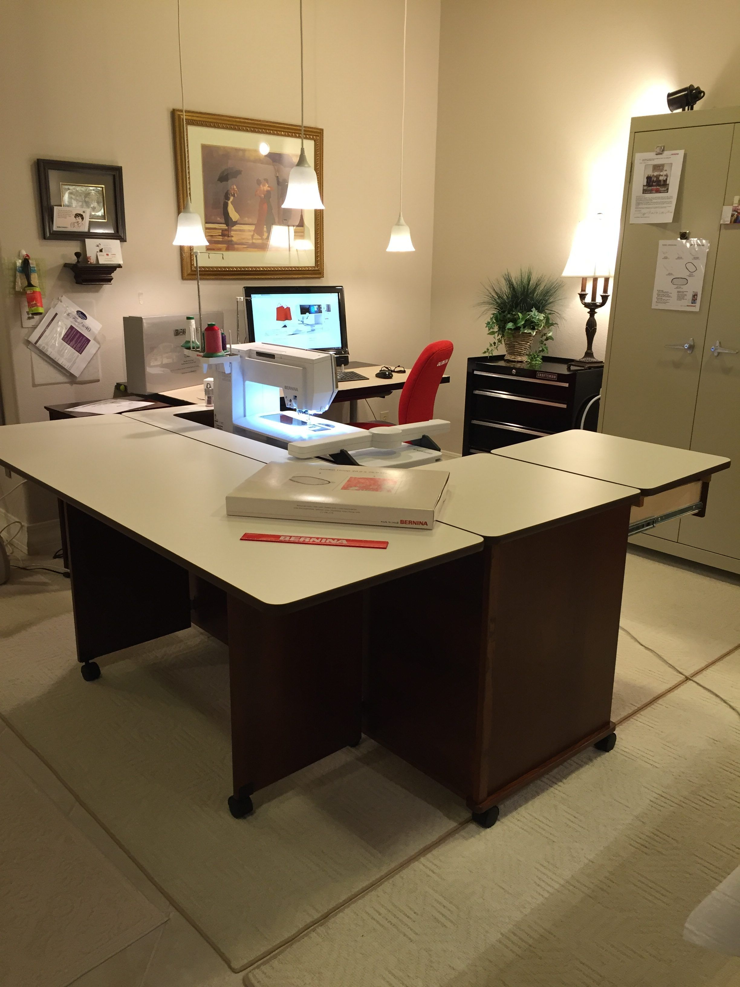 Designing A Sewing Room: Bernina Rocks! A Sewing Room Should Be A Palace In 2020