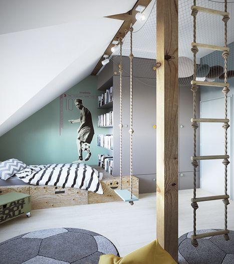 Netz Kinderzimmer oberen teil des zimmers mit netz wohnen netz