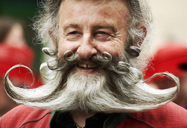 Weird Facial Hair Styles: Weird Beard 4 By The Big Bambooly, Via Flickr