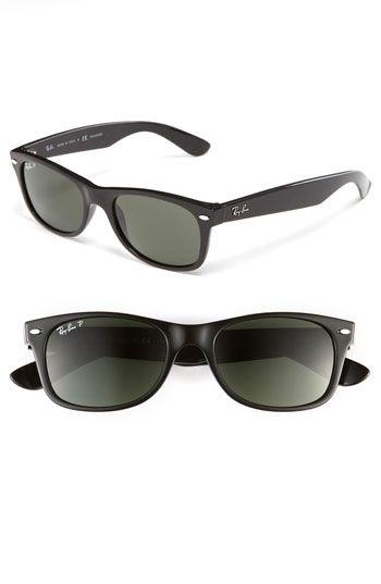Ray Ban Small New Wayfarer 52mm Polarized Sunglasses Nordstrom Polarized Sunglasses Sunglasses Ray Bans