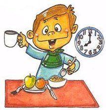 Desayunar con los niños en verano para ayudar a crear hábitos saludables en el futuro