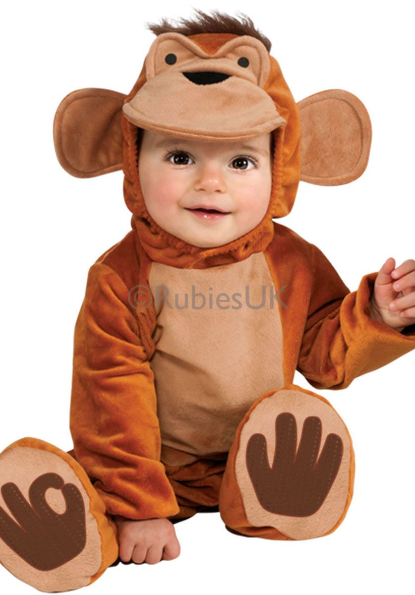 Funky Monkey Costume for Toddlers & Infants - General Kids ...