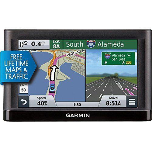 Garmin Nvi 55lmt Gps Navigators System With Spoken Turnbyturn Directions Preloaded Maps And Sp Gps Navigation Gps Navigation System Navigation System