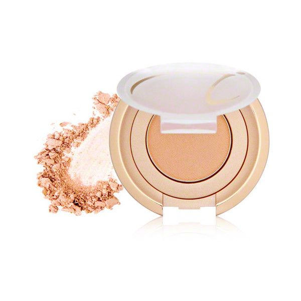jane iredale jane iredale PurePressed Eye Shadow - Champagne (£13) ❤ liked on Polyvore featuring beauty products, makeup, eye makeup, eyeshadow, jane iredale eye shadow, mineral eyeshadow, jane iredale, jane iredale eyeshadow and mineral eye shadow