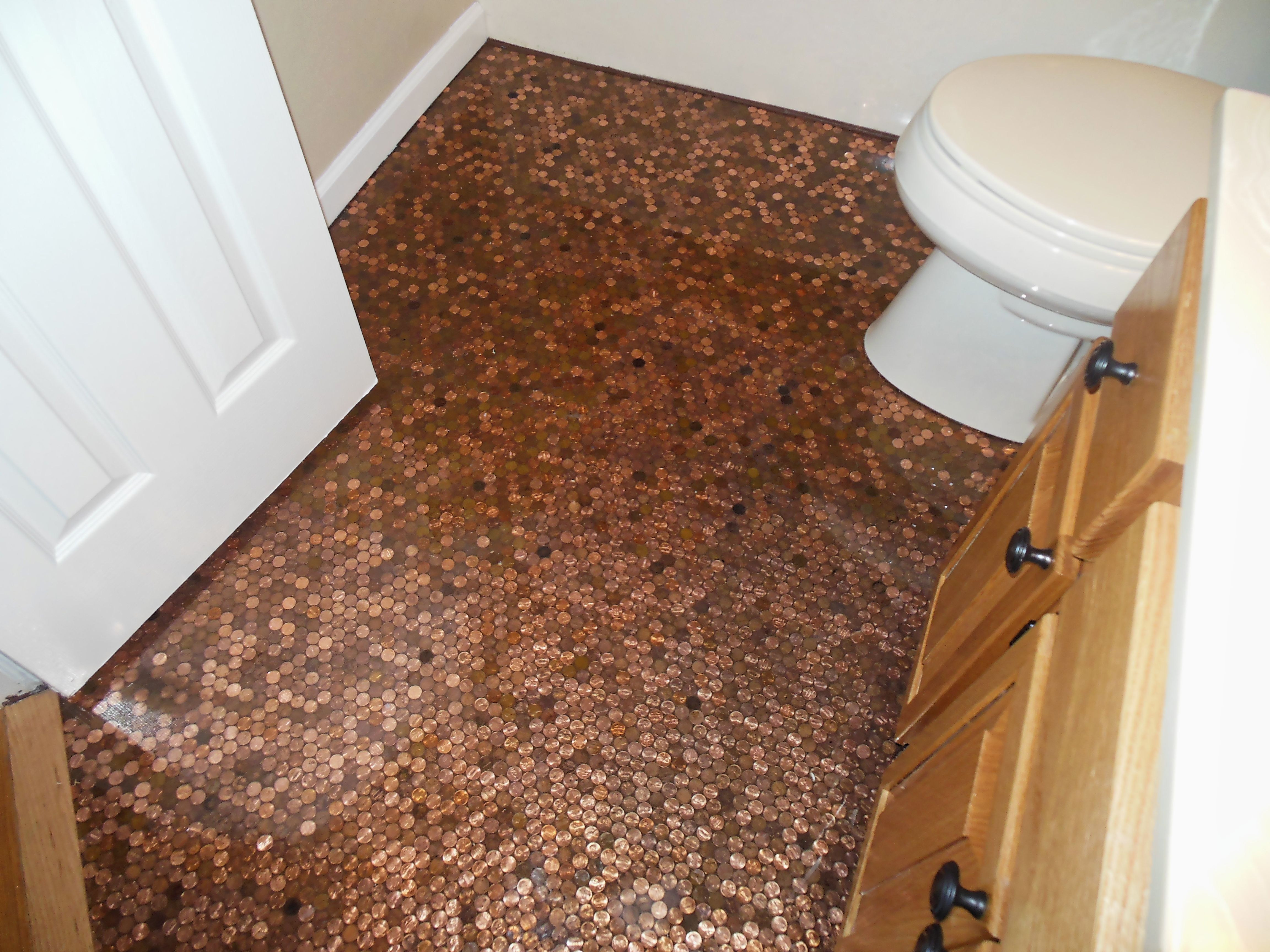 Epoxy floor bathroom - Where To Buy Epoxy Resin