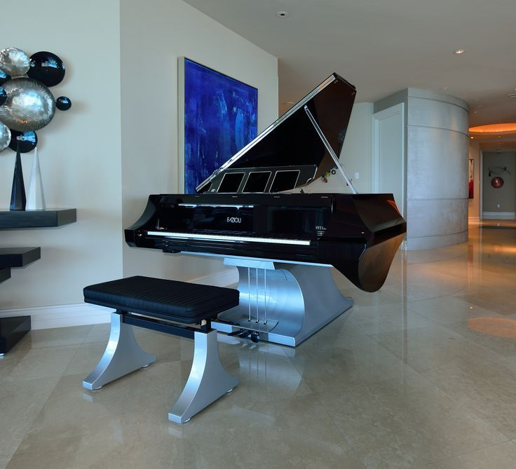 Fazioli M Liminal NYT Line Contemporary Piano Minimalist