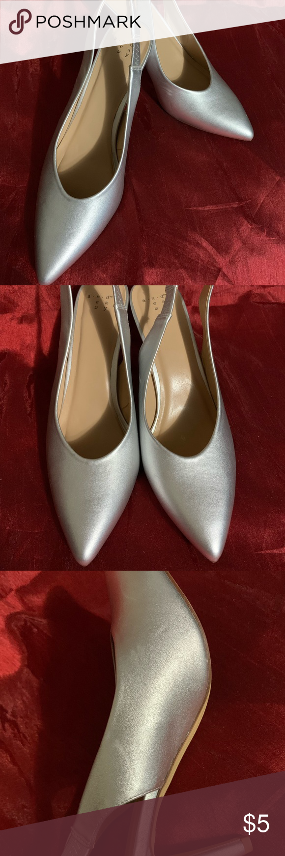 254806cb6dc A New Day™ (Target) Sling Back Heels