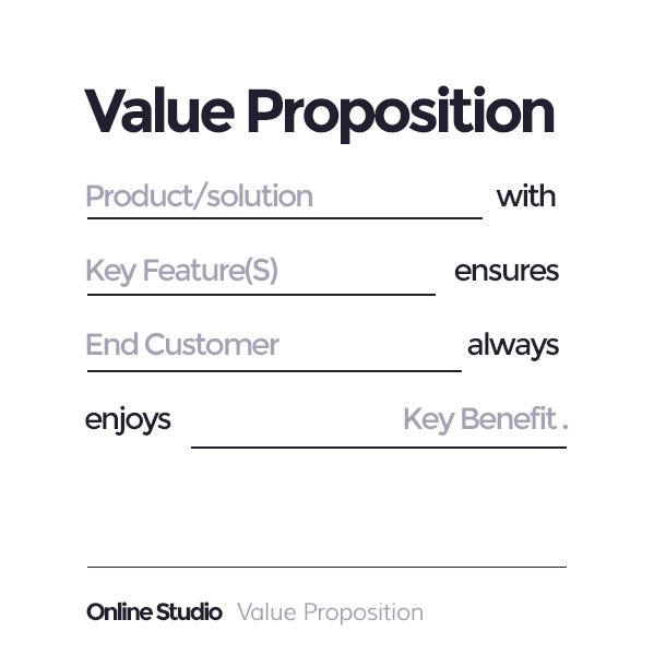 The Power Of The Value Proposition Ad Lib The Cio Example