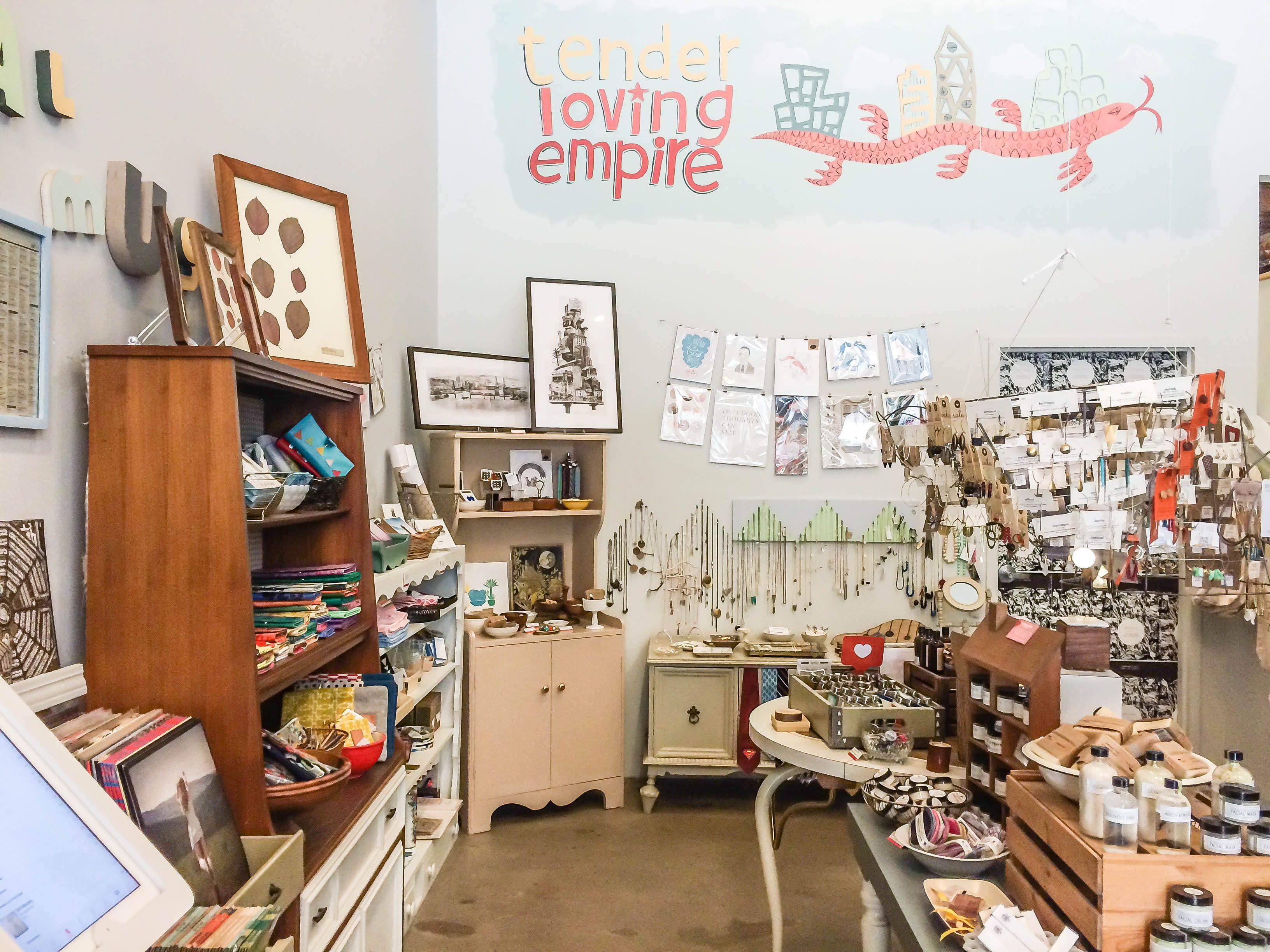Tender Loving Empire, Portland, Oregon Shopping