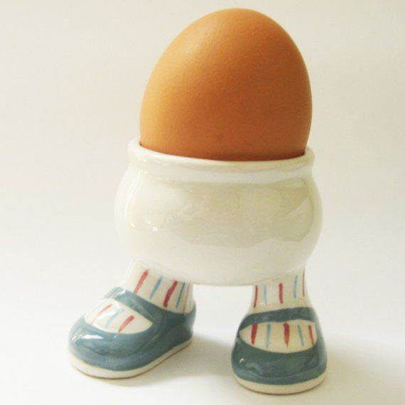 Walking Ware From The 70 S My Mom Gave Me Her Collection With Images Egg Cups Holders