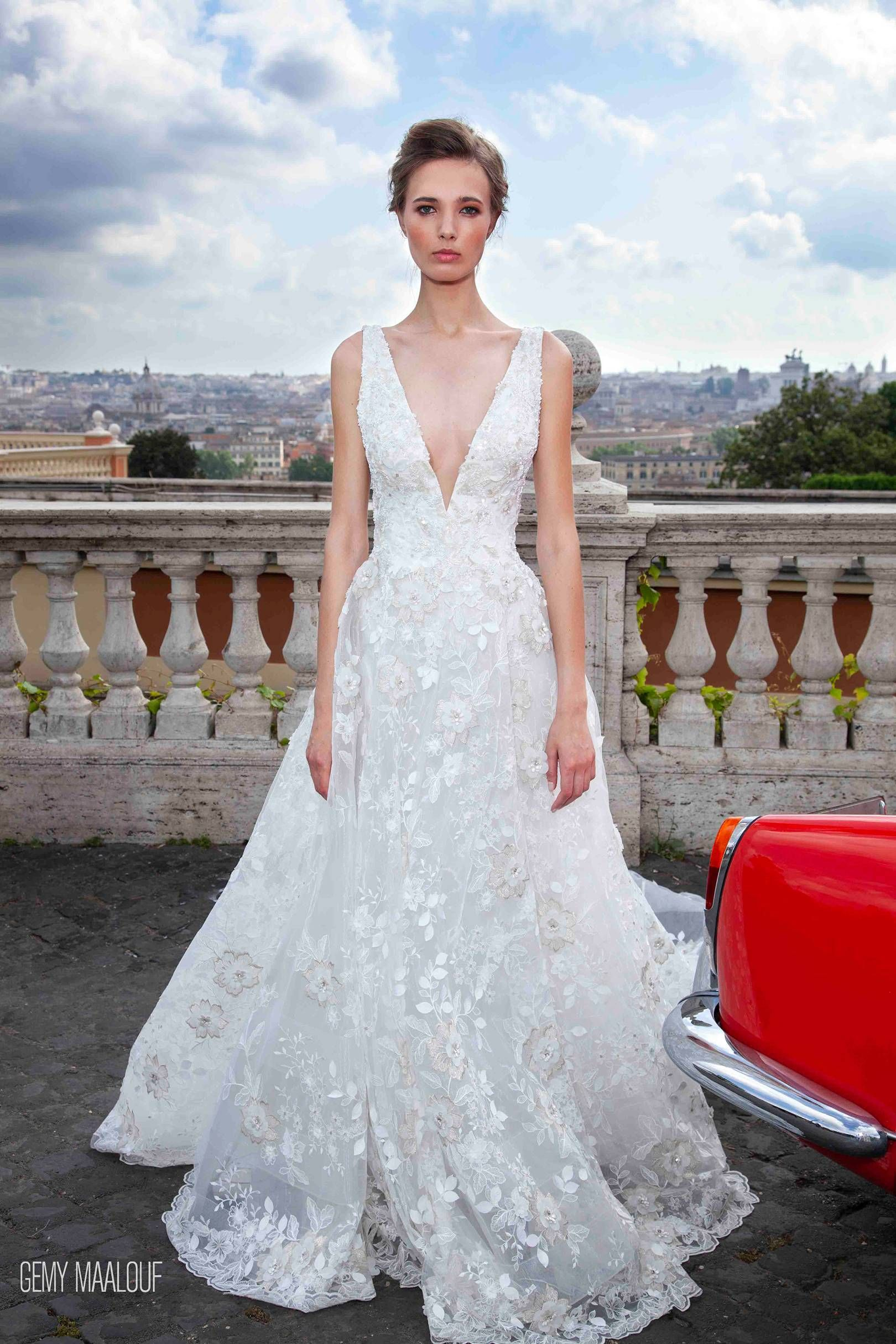 aee5200ce117 GEMY MAALOUF Bridal 2019 exclusively available in London at Mirror Mirror