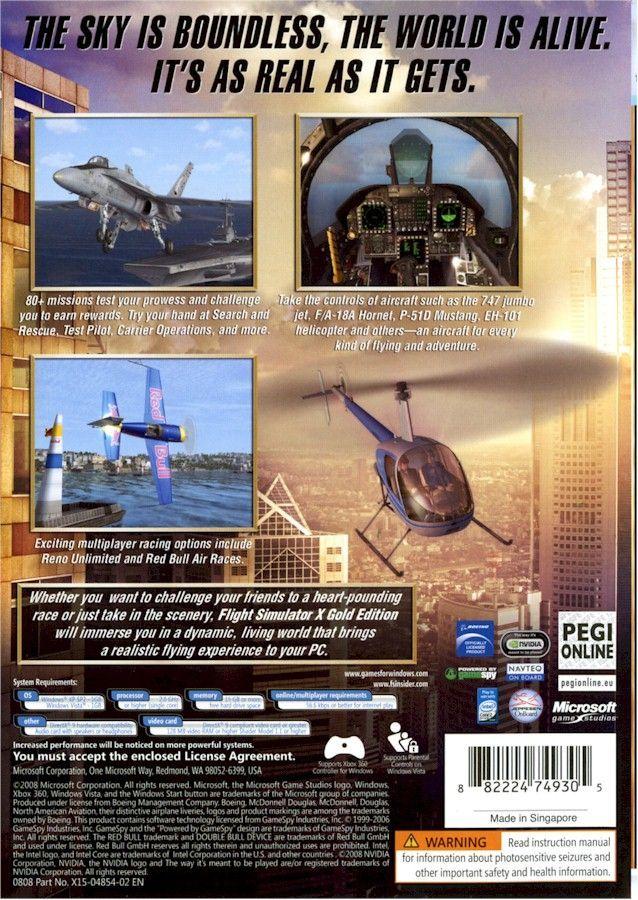 Flight Simulator PC Software Microsoft Flight Simulator