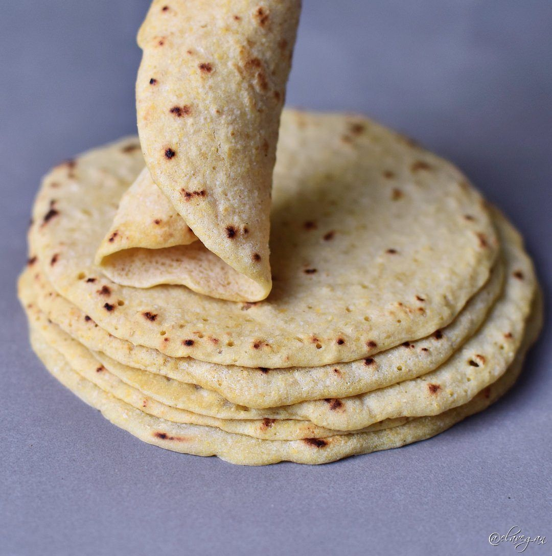 Gluten free tortillas recipe with 2 ingredients for