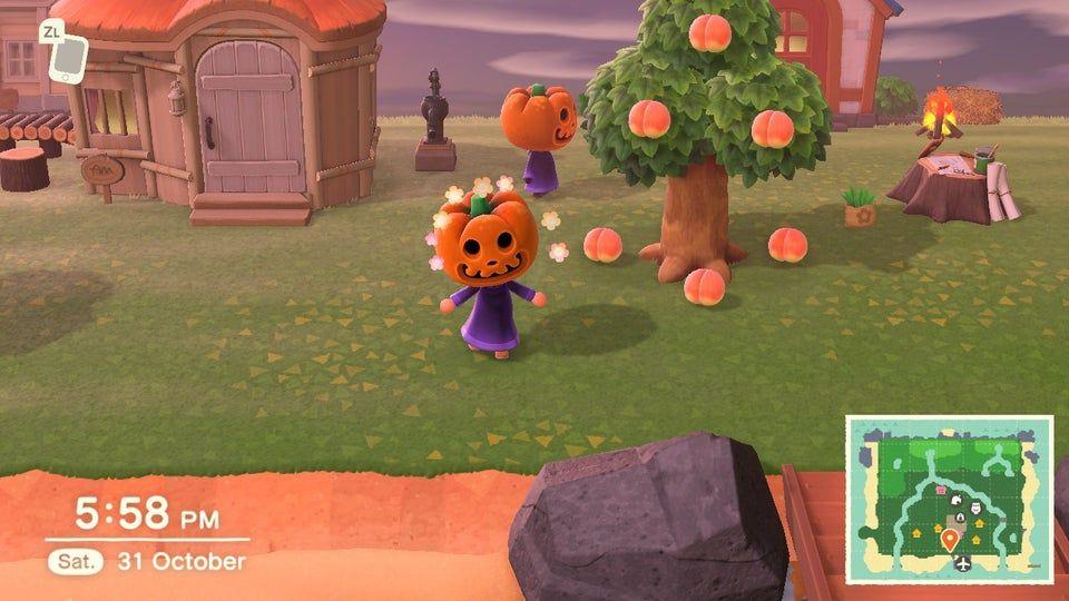 Halloween Animal Crossing New Horizons Wiki Guide Ign Halloween Animals Animal Crossing Dog Skull