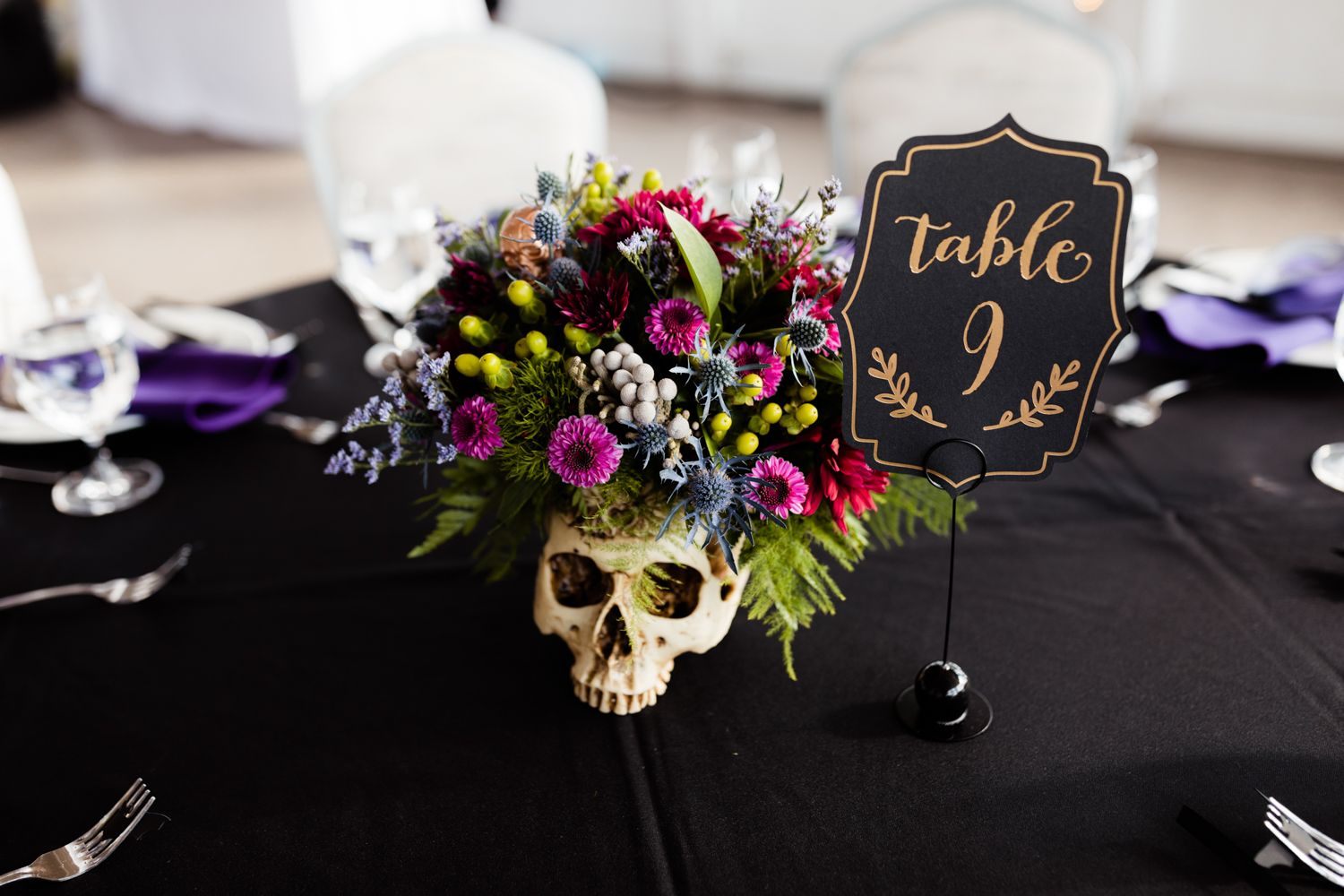How To Plan A Wedding That S Uniquely You Andreavanorsouw Com Halloween Themed Wedding Halloween Wedding Centerpieces Wedding Centerpieces