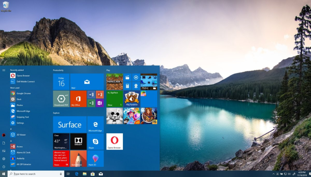 How to personalize your Windows 10 PC in 2020 Desktop