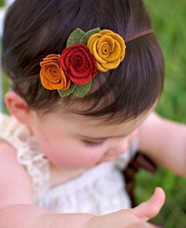 newborn headband Infant toddler headband. Baby girl Headband Nylon headband,Felt headbands Baby headbands Felt flower headband