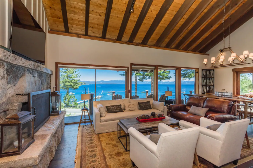 Voted BEST VIEWThe Lodge at Tahoe. Lake Views Houses