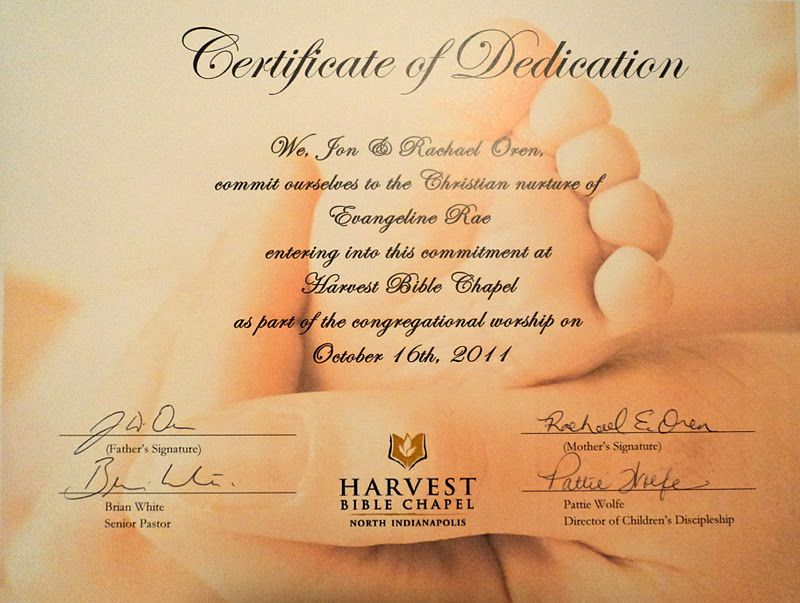... Certificate Baby Dedication Is Not A Means By Which A Child Can Go To  Heaven   Baby ...  Baby Dedication Certificates Templates