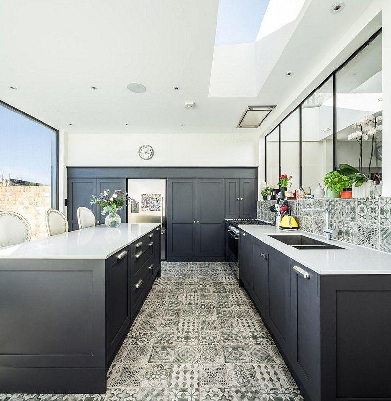 Edwardian House in Fulham / EMR Home Design   Kitchens   Pinterest