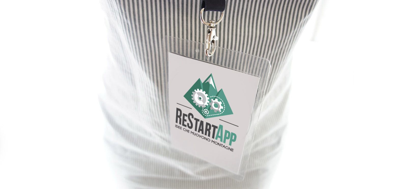 The logo we have created for ReStartApp, a project by Progetto Appennino (Fondazione Edoardo Garrone)