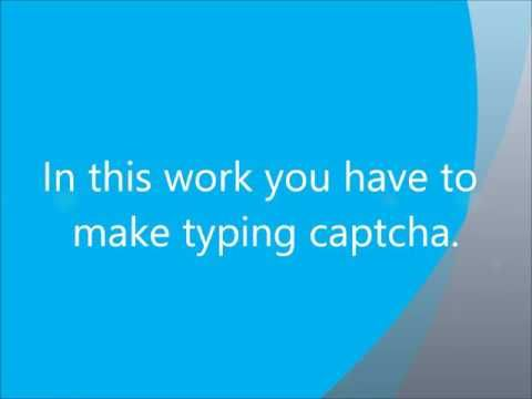 Typing jobs from home no fee | Get Paid 4 Typing Captcha