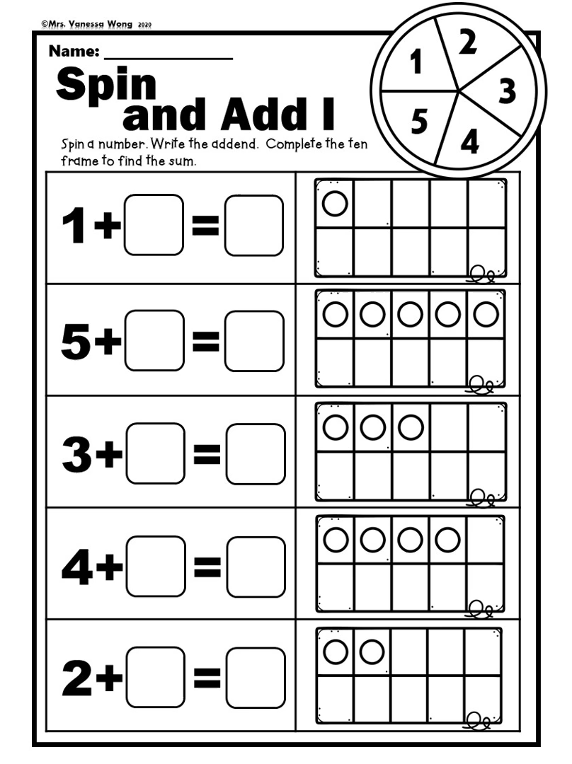 Kindergarten Math Worksheets Picture Addition Distance Learning Video Math Addition Kindergarten Math Kindergarten Math Worksheets Free [ 1080 x 808 Pixel ]