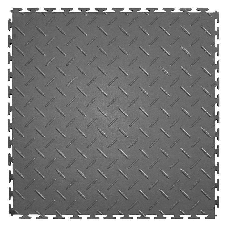 Perfection Floor Tile Diamond Plate PVC Interlocking Tiles