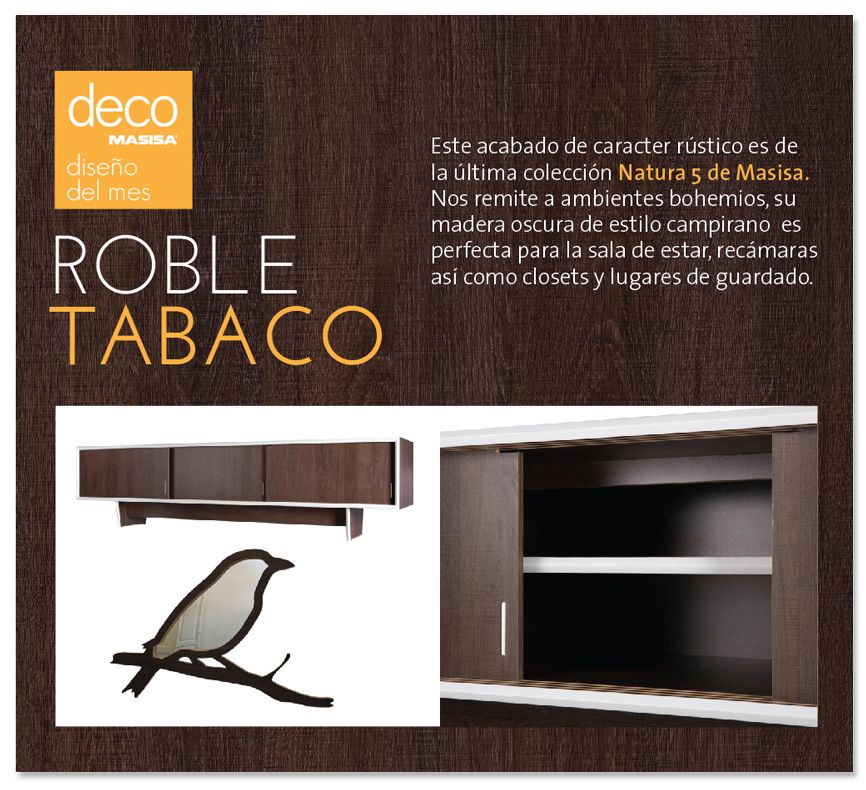 Roble Tabaco