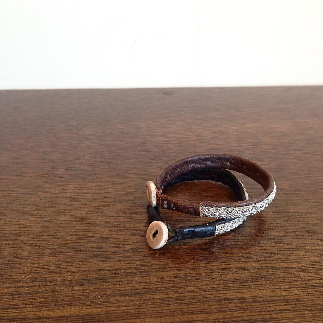 monica johansson leather bracelet  #monicajohansson #モニカヨハンソン #ブレスレット #tile #clothestile #高槻 by clothes_tile
