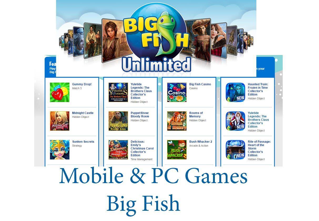 Play online big fish games