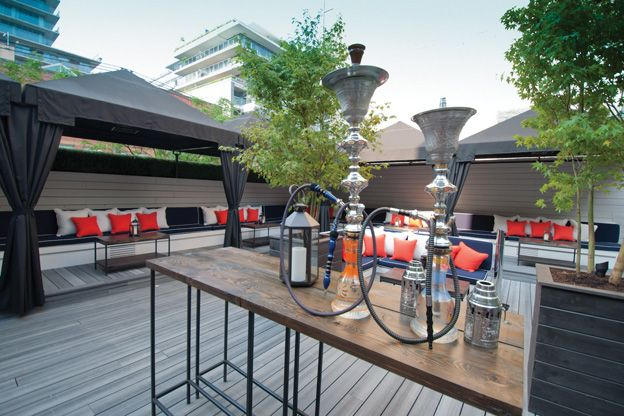 Introducing: EFS, a new rooftop bar and hookah lounge on ...