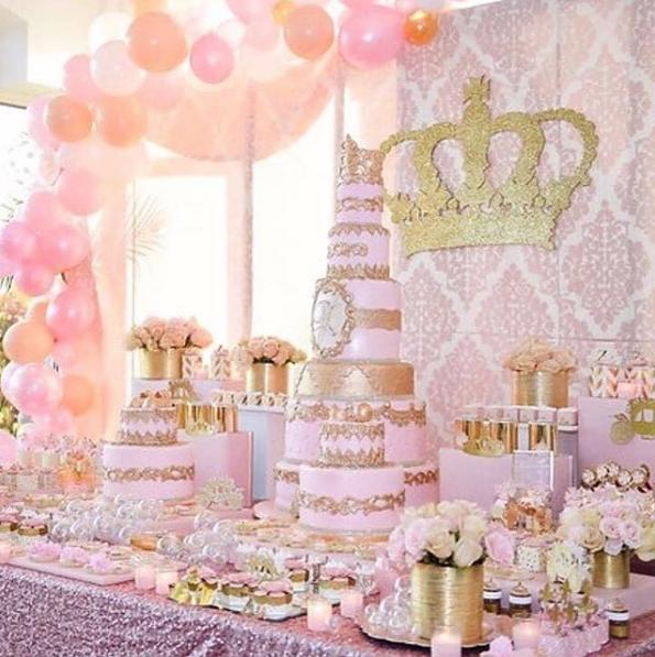 101 Fiestas Un Baby Shower Tem 225 Tico De Princesa