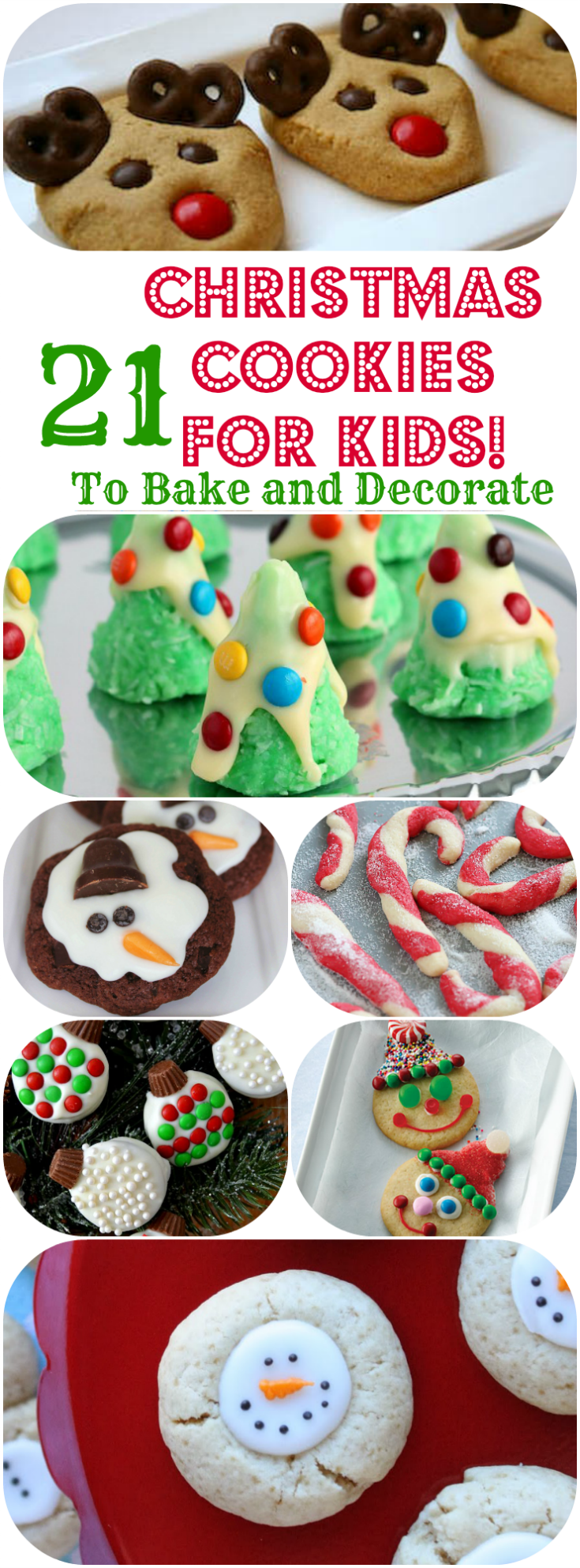 21 Christmas Cookies Kids Can Bake Cookies And Bars Christmas