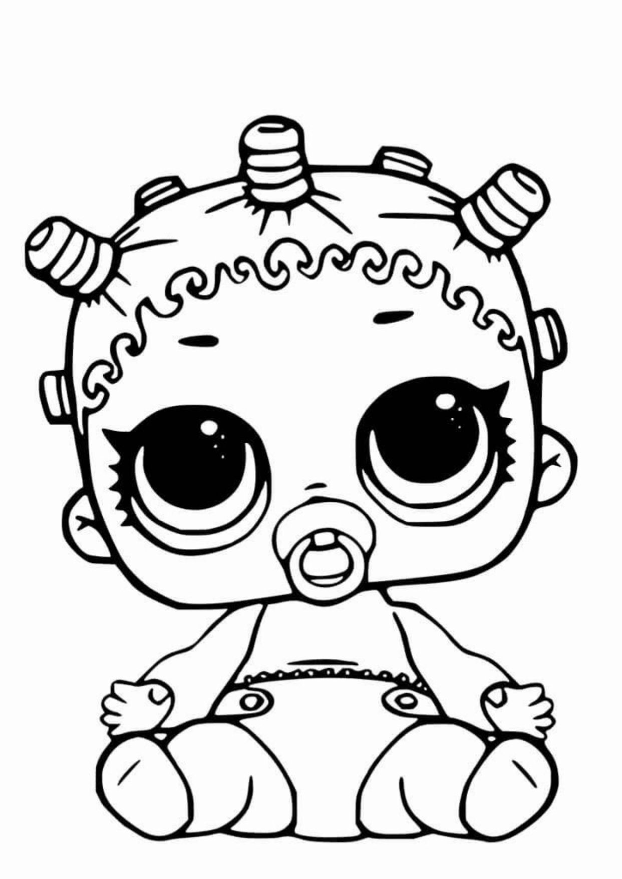 Lol Lil Sister Coloring Page Hello Kitty Coloring Cute Coloring Pages Toddler Coloring Book